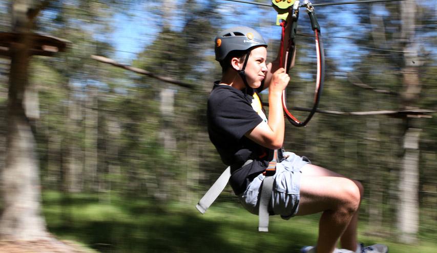 Flying Fox Zip Line Ecoline Constructing Fun Eco